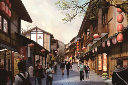 Protection and Development Planning of Wutan Historical Cultural Famous Town,  Jiangjin District, Chongqing
