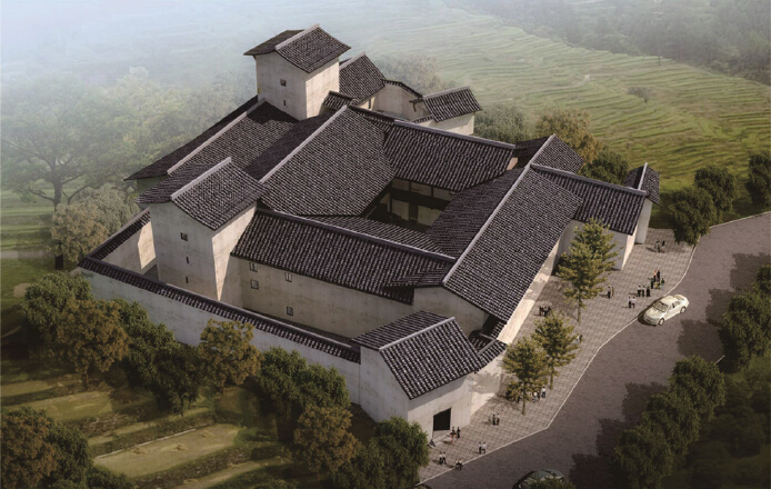 Survey and Restoration Design of General Zeng's Former  Residence in Yima Village, Daxing Town, Yongshan County