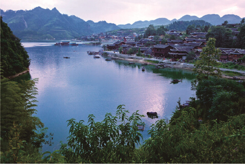 Protection and Development Planning of Traditional  Villages in Hewan Village of Youshuihe Town,  Youyang Tujia Miao Autonomous County,  Chongqing (2014-2030)